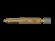 Торсионные биты с покрытием из нитрида титана для отверток Pozidriv, 50 мм