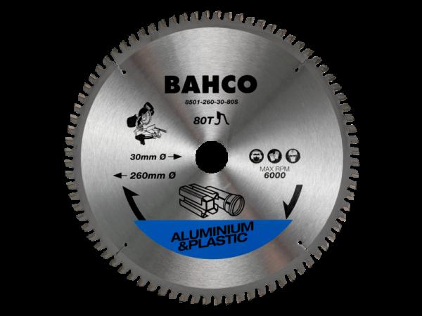 Полотна для торцовочных дисковых пил по алюминию и пластмассе