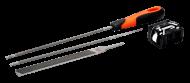 Набор напильников для заточки пильных цепей с направляющей 168-C-G