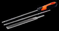 Набор напильников для заточки пильных цепей