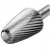 Бор-фрезы из быстрорежущей стали с древовидной скругленной головкой HSSG-F
