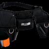Набор из трех поясных сумок на ремне для работы на высоте 4750-3PB-2