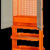 Двухдверный инструментальный шкаф на колесах
