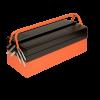 """Ящик типа """"Кантиллевер"""" с 3 отделениями Складные ручки для компактного хранения Потяните за ручки, коробка откроется легко и обеспечит быстрый доступ ко всем отсекам с инструментом."""