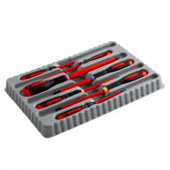 Набор изолированных отверток ERGO™, 7 штук BE-9888S