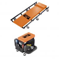 Тележка ремонтная подкатная и стул механика BLE304