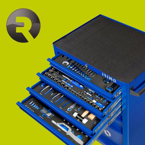 Тележка IRIMO с 7 ящиками и набором инструментов за 69 000 рублей